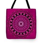 Pink Passion No. 3 Mandala Tote Bag