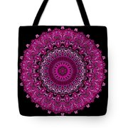 Pink Passion No. 7 Mandala Tote Bag