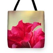 Pink Passion Petunia Tote Bag