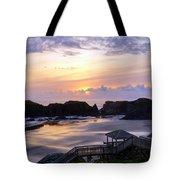 Pink Pastel Sunset Tote Bag