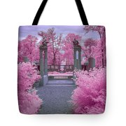 Pink Path To Paradise Tote Bag