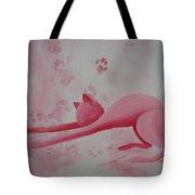 Pink Pause Tote Bag