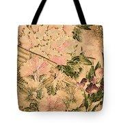 Pink Peonies - Kimono Series Tote Bag