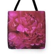 Pink Peony Blossom Tote Bag