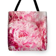 Pink Peony Bouquet Tote Bag