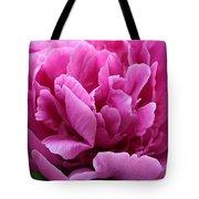Pink Peony Watercolor Tote Bag