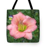 Pink Petals - Chorus Line Daylily Tote Bag
