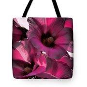 Pink Petunia Tote Bag