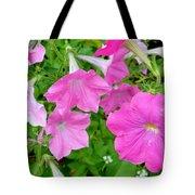 Pink Petunia Flower 11 Tote Bag