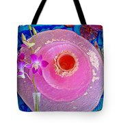 Pink Place Setting Tote Bag