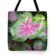 Pink Plants Tote Bag