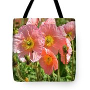 Pink Poppies 2 Tote Bag