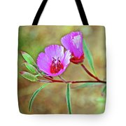 Pink Poppies In Rancho Santa Ana Botanic Garden In Claremont-california Tote Bag