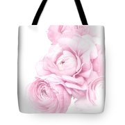 Pink Ranunculus Bouquet Tote Bag