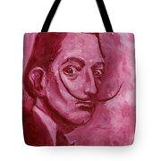 Pink Rhinoceros  Tote Bag