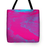 Pink River Tote Bag