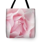 Pink Rose Bud Just Starting To Open Tote Bag