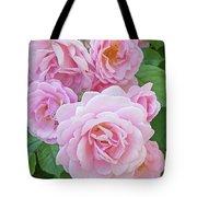 Pink Rose Cluster II Tote Bag