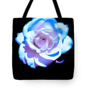 Pink Rose Has The Blues Tote Bag