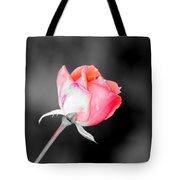 The October Rose    Tote Bag