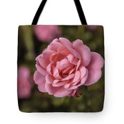 Pink Rose Instagram Tote Bag