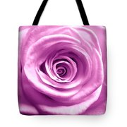 Pink Rose Macro Hdr Tote Bag