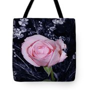 Pink Rose Of Imperfection Tote Bag