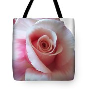 Pink Rose Painting Tote Bag