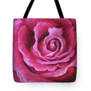 Pink Rose Pastel Painting Tote Bag