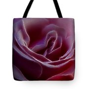 Pink Rose Portrait Tote Bag