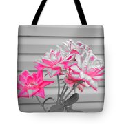 Pink Rose Tree Pop Tote Bag