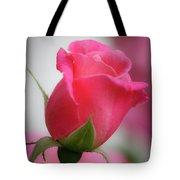 Pink Rosebud 1 Tote Bag