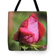Pink Rosebud Tote Bag