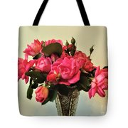 Pink Roses Bouquet 2 Tote Bag