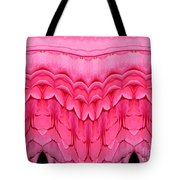 Pink Roses Polar Coordinates Effect 1 Tote Bag