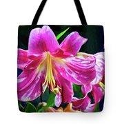 Pink Rules - Impasto Tote Bag