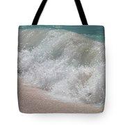 Pink Sand Beaches Tote Bag