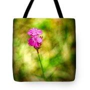 Pink Tote Bag by Silvia Ganora