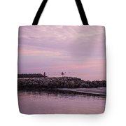 Pink Skies At Dawn Tote Bag