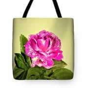 Pink Speckled Rose 1 Tote Bag