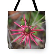 Pink Spikes Tote Bag