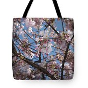 Pink Spring Blossoms Tote Bag