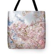 Pink Spring Tote Bag