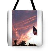 Pink Sun Rise Tote Bag