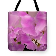 Pink Sweetpeas Tote Bag