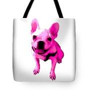 Pink Terrier Tote Bag