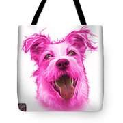Pink Terrier Mix 2989 - Wb Tote Bag