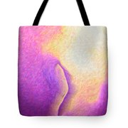 Pink To Yellow Girl. Tote Bag