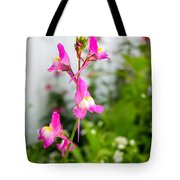Pink Toadflax Tote Bag