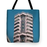 Pink Tower Tote Bag